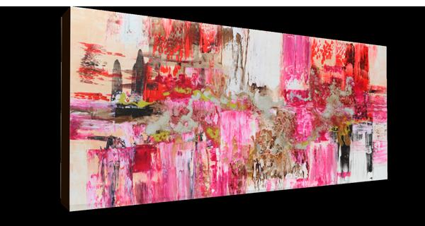 Abstracto texturas fucsia 150x80