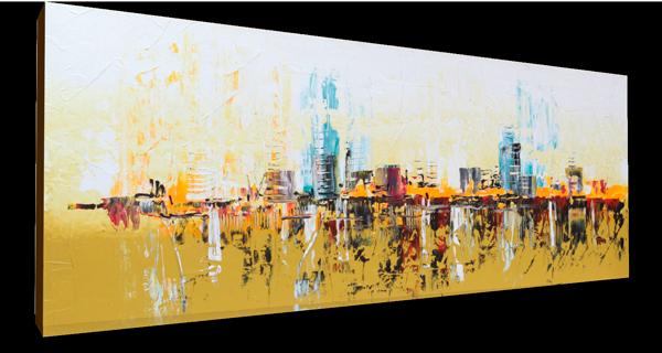Abstracto urbano 150x55