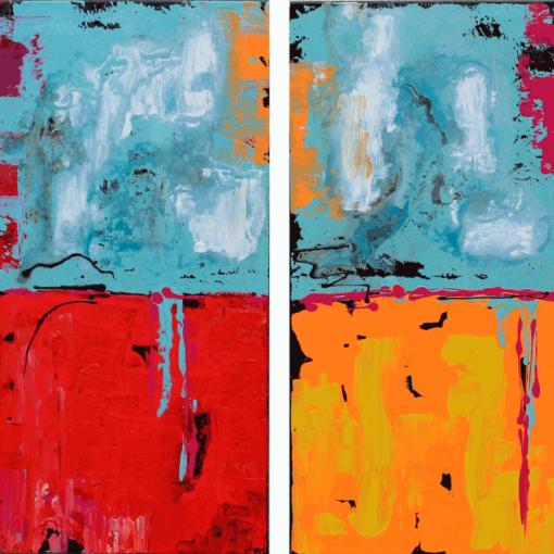 pareja-abstracto-california-40x80